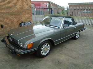 MERCEDES BENZ SL 380 LHD CONVERTIBLE(1981)GREY  For Sale