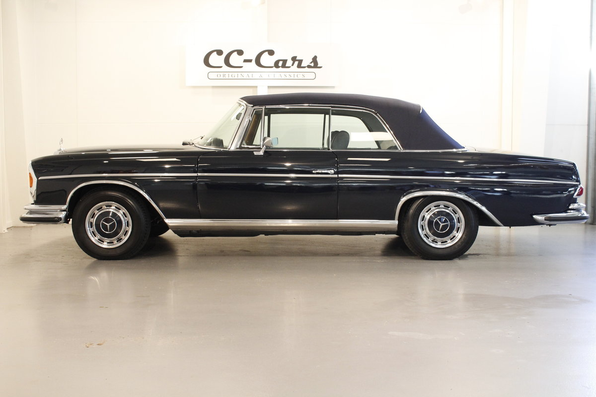 1968 Mercedes 280 SE convertible For Sale (picture 4 of 6)