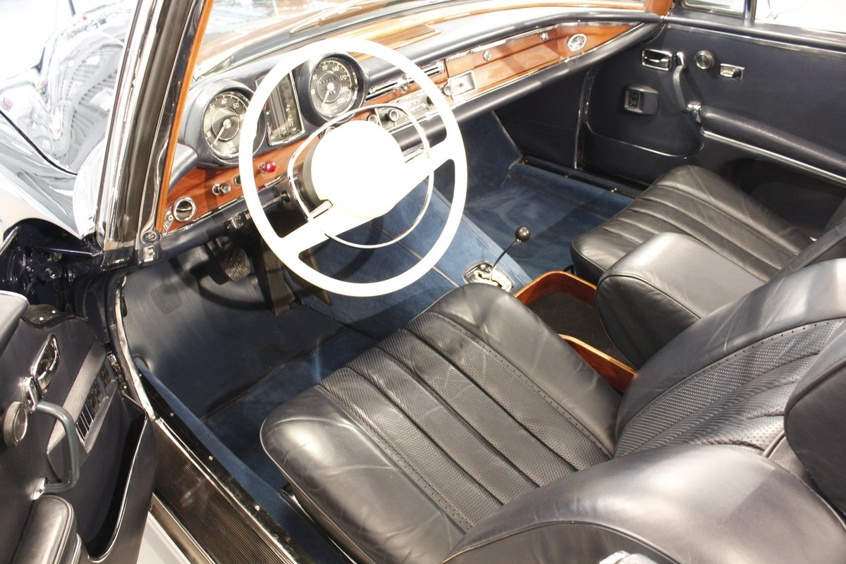 1968 Mercedes 280 SE convertible For Sale (picture 5 of 6)