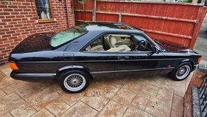 1988 Mercedes sec coupe facelift 126 series