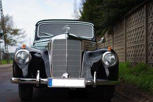 1952 MB 220 w 187 cabrio B