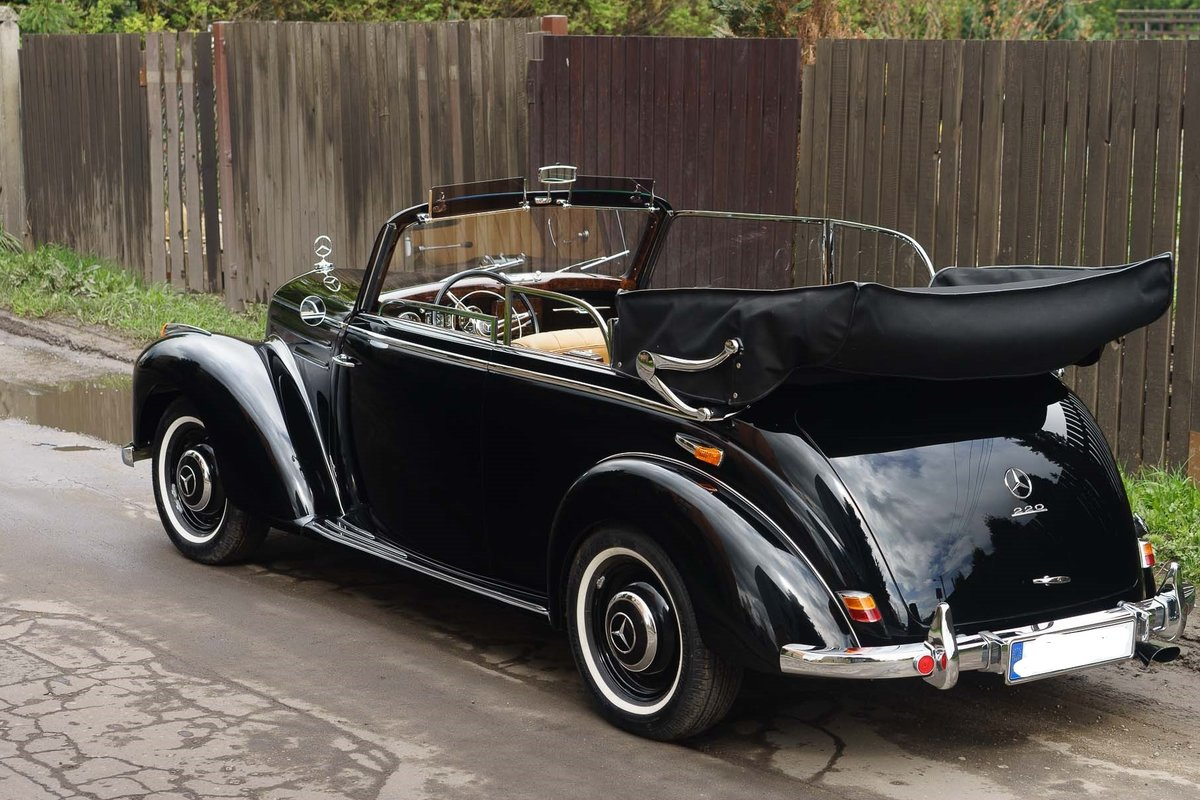 1952 MB 220 w 187 cabrio B  For Sale (picture 2 of 6)