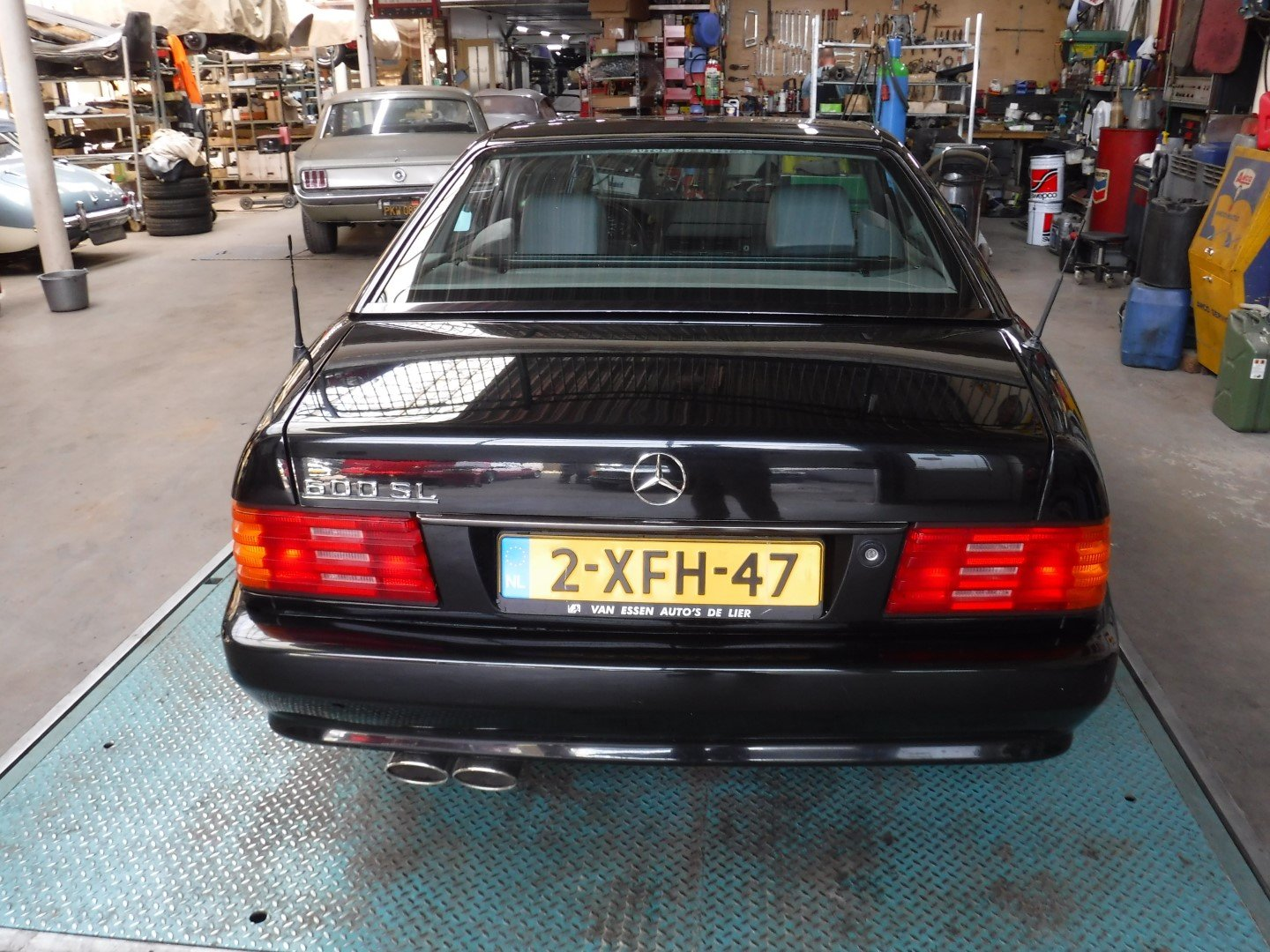 Mercedes-Benz 600SL V12 1993 For Sale (picture 3 of 6)