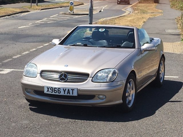 2000 Mercedes SLK 230 Auto rare colour price reduced For Sale (picture 2 of 6)