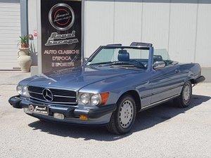 1988 MERCEDES R107 SL 560 AMERICA – ASI TARGA ORO For Sale