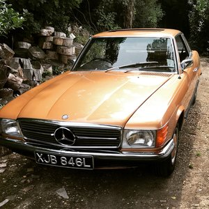 Picture of 1972 Mercedes 350SLC