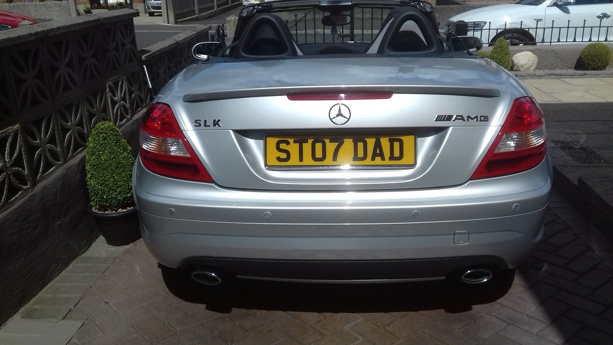 2007 MERCEDES SLK  CONVERTIBLE AMG (style) SOLD (picture 2 of 6)