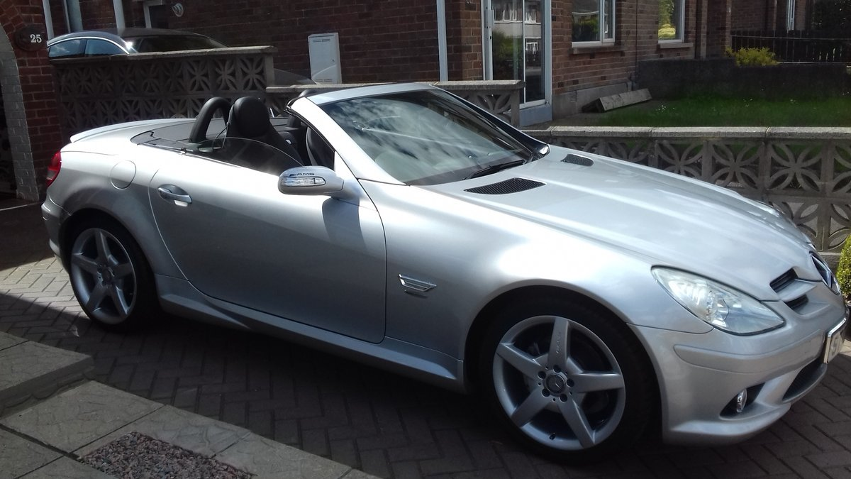 2007 MERCEDES SLK  CONVERTIBLE AMG (style) SOLD (picture 1 of 6)