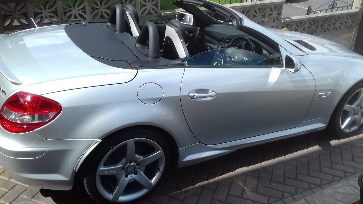 2007 MERCEDES SLK  CONVERTIBLE AMG (style) SOLD (picture 5 of 6)