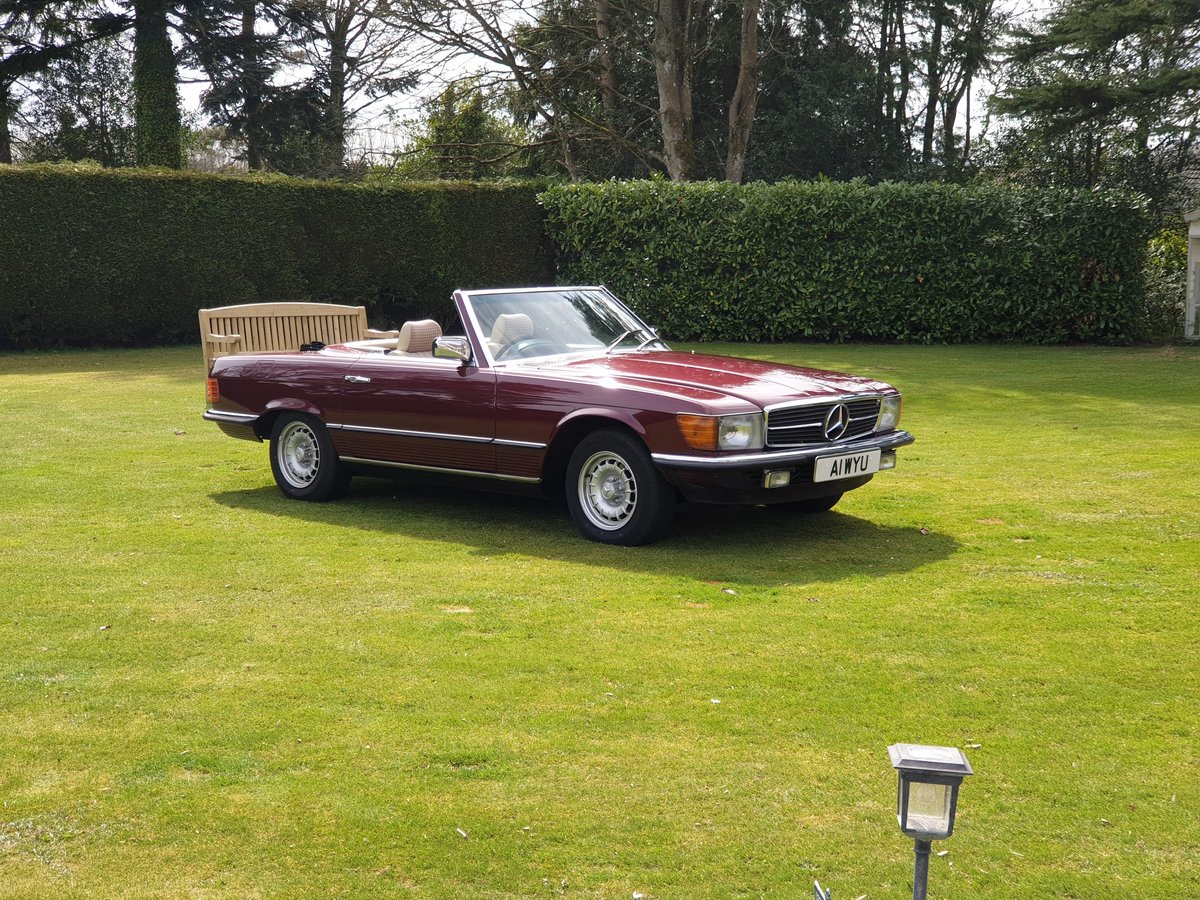 1985 Mercedes 280 SL For Sale (picture 1 of 6)