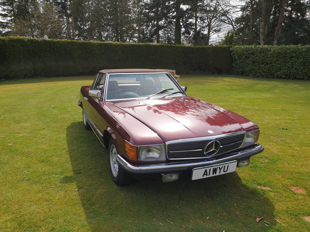1985 Mercedes 280 SL For Sale (picture 2 of 6)