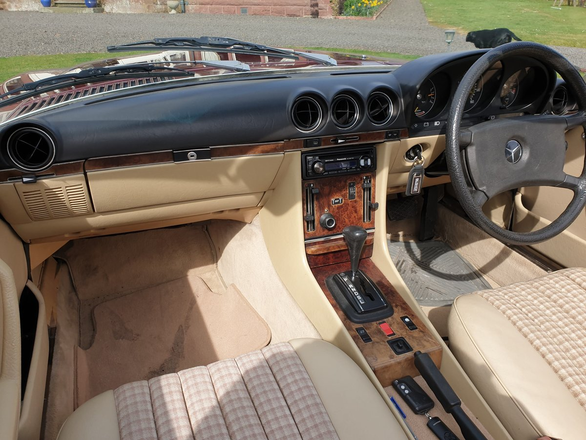 1985 Mercedes 280 SL For Sale (picture 4 of 6)