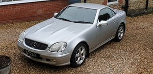 Mercedes SLK 320. 1 Owner, 35,000 miles. FSH. 2001 SOLD