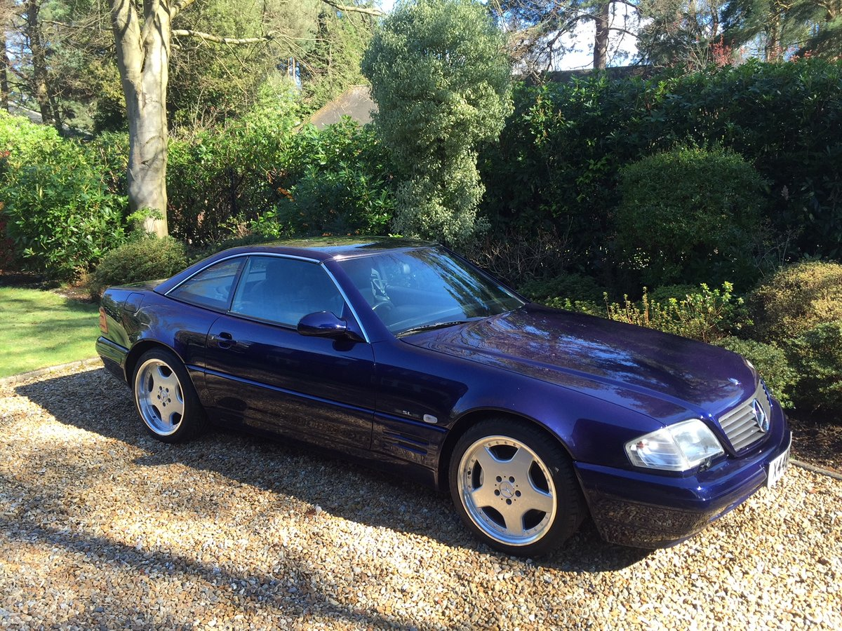 2000 SL320 Edition - 75,000 miles, FSH For Sale (picture 1 of 6)