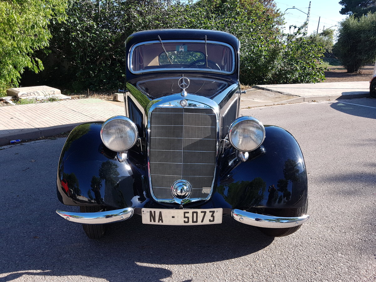 1937 Mercedes 170 s good restauration For Sale (picture 1 of 6)