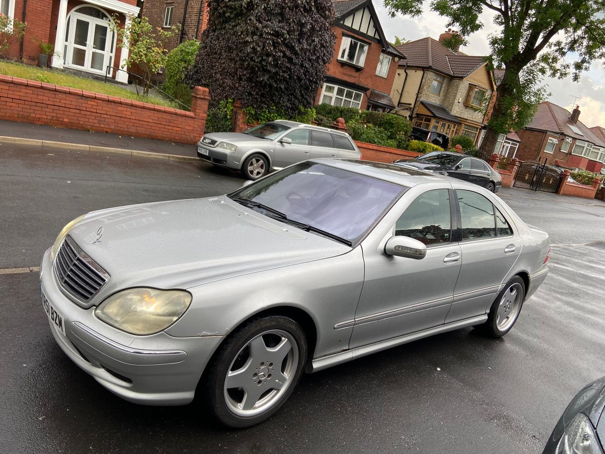 2001 Mercedes S500 + AMG KIT / Monoblocks  For Sale (picture 2 of 6)