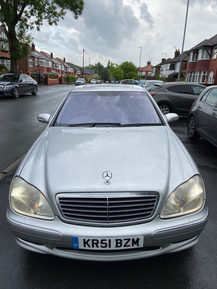2001 Mercedes S500 + AMG KIT / Monoblocks  For Sale (picture 4 of 6)