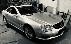Mercedes Benz SL55 AMG Supercharged V8 Project
