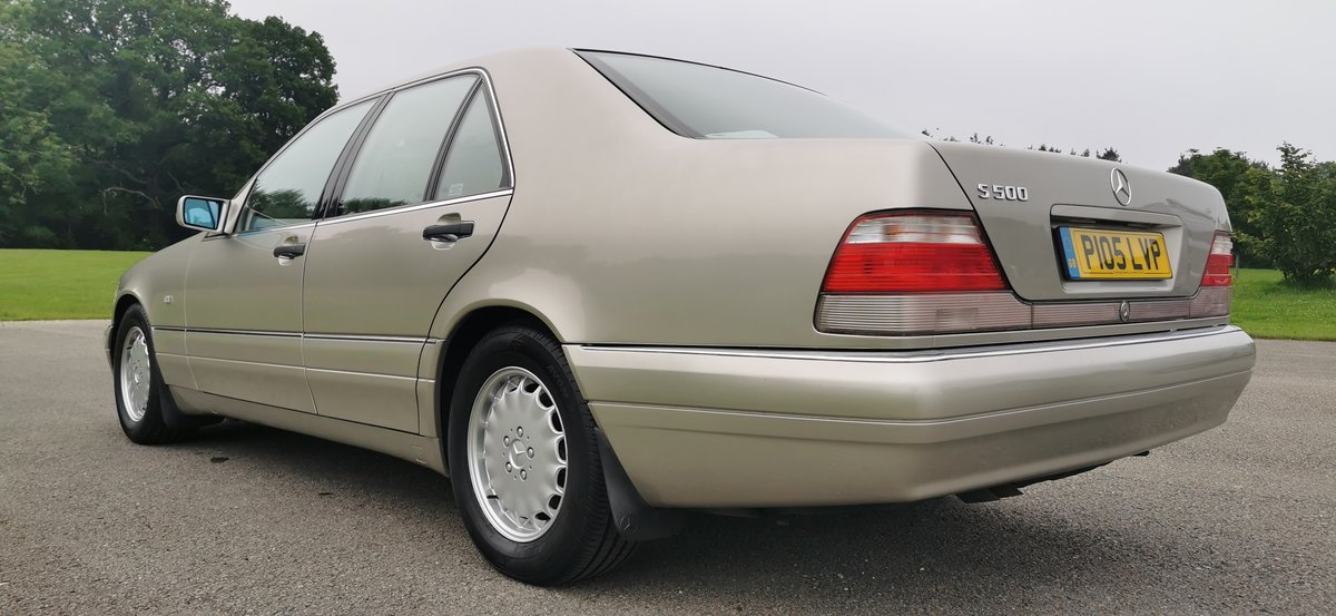 1997 Mercedes s class s500 w140 69k miles immaculate For Sale (picture 3 of 6)
