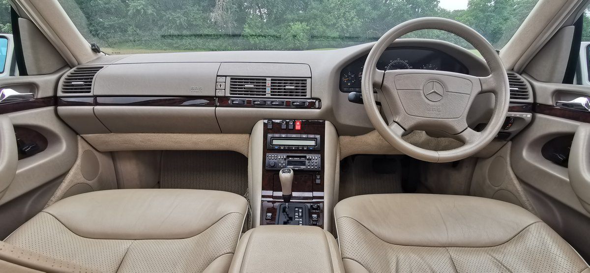 1997 Mercedes s class s500 w140 69k miles immaculate For Sale (picture 6 of 6)