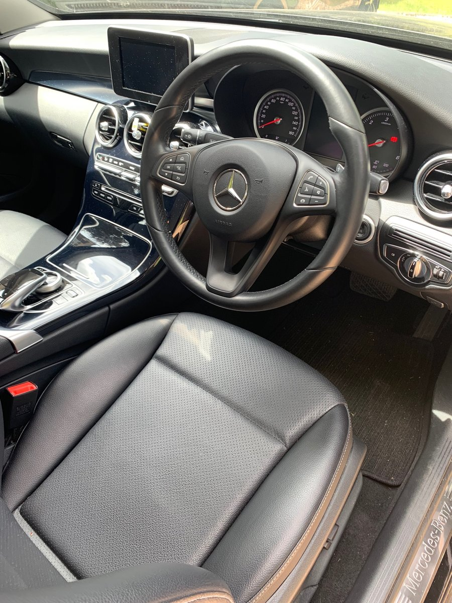 2015 Mercedes C220 Bluetec - 19,850 miles, FSH. 1 owner For Sale (picture 3 of 6)