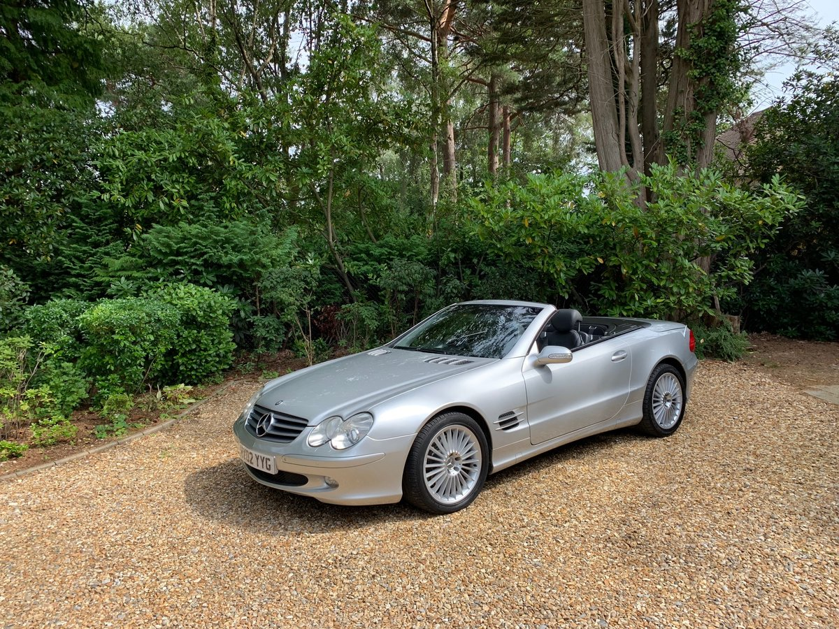 2002 Mercedes SL500 - 64,800 miles, FSH For Sale (picture 1 of 6)