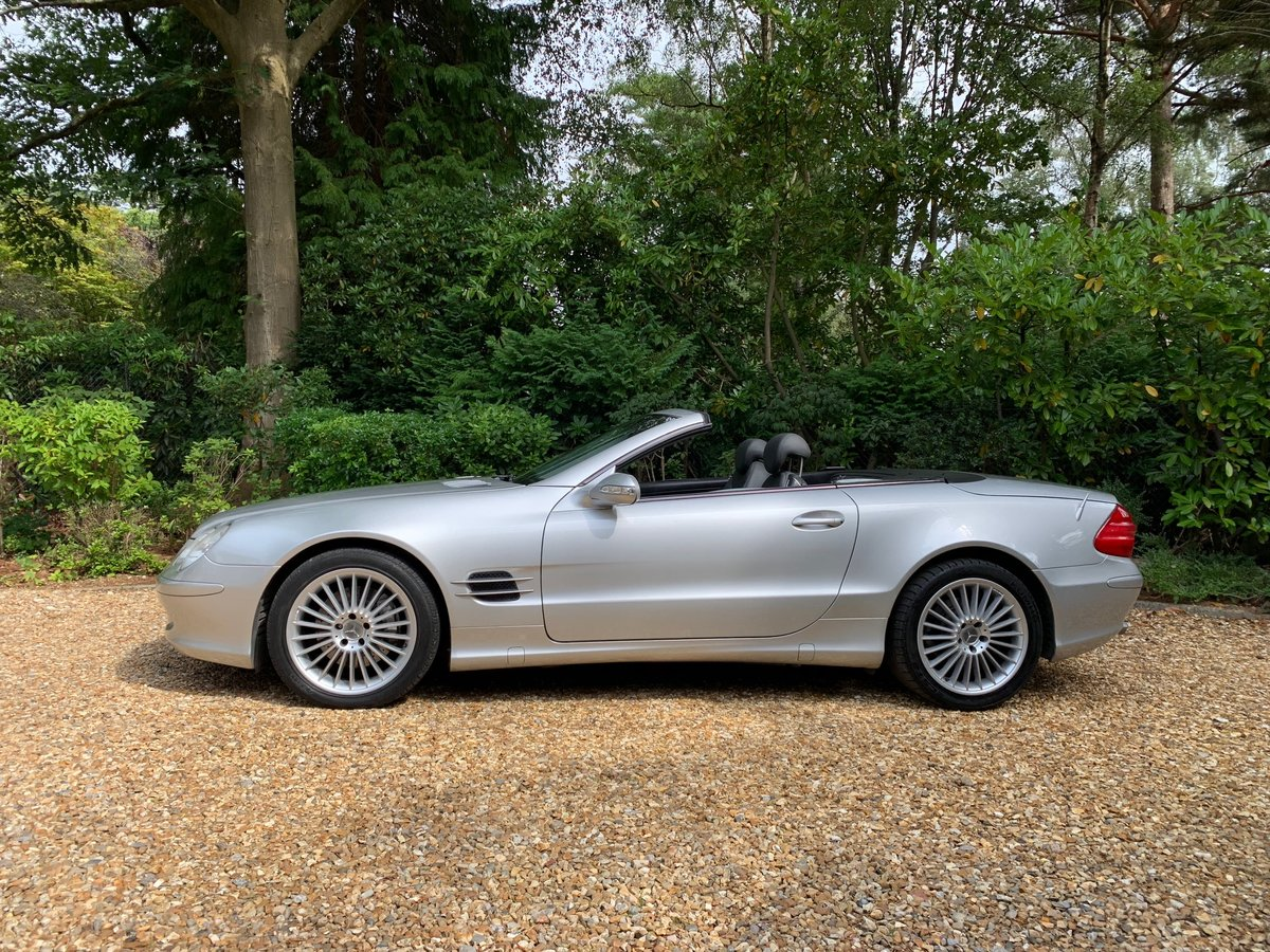 2002 Mercedes SL500 - 64,800 miles, FSH For Sale (picture 2 of 6)