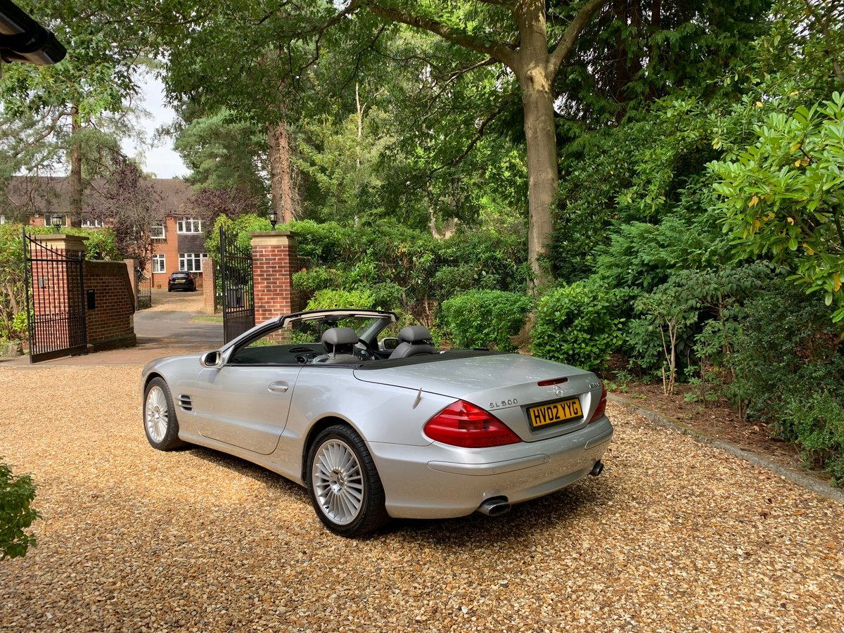 2002 Mercedes SL500 - 64,800 miles, FSH For Sale (picture 3 of 6)