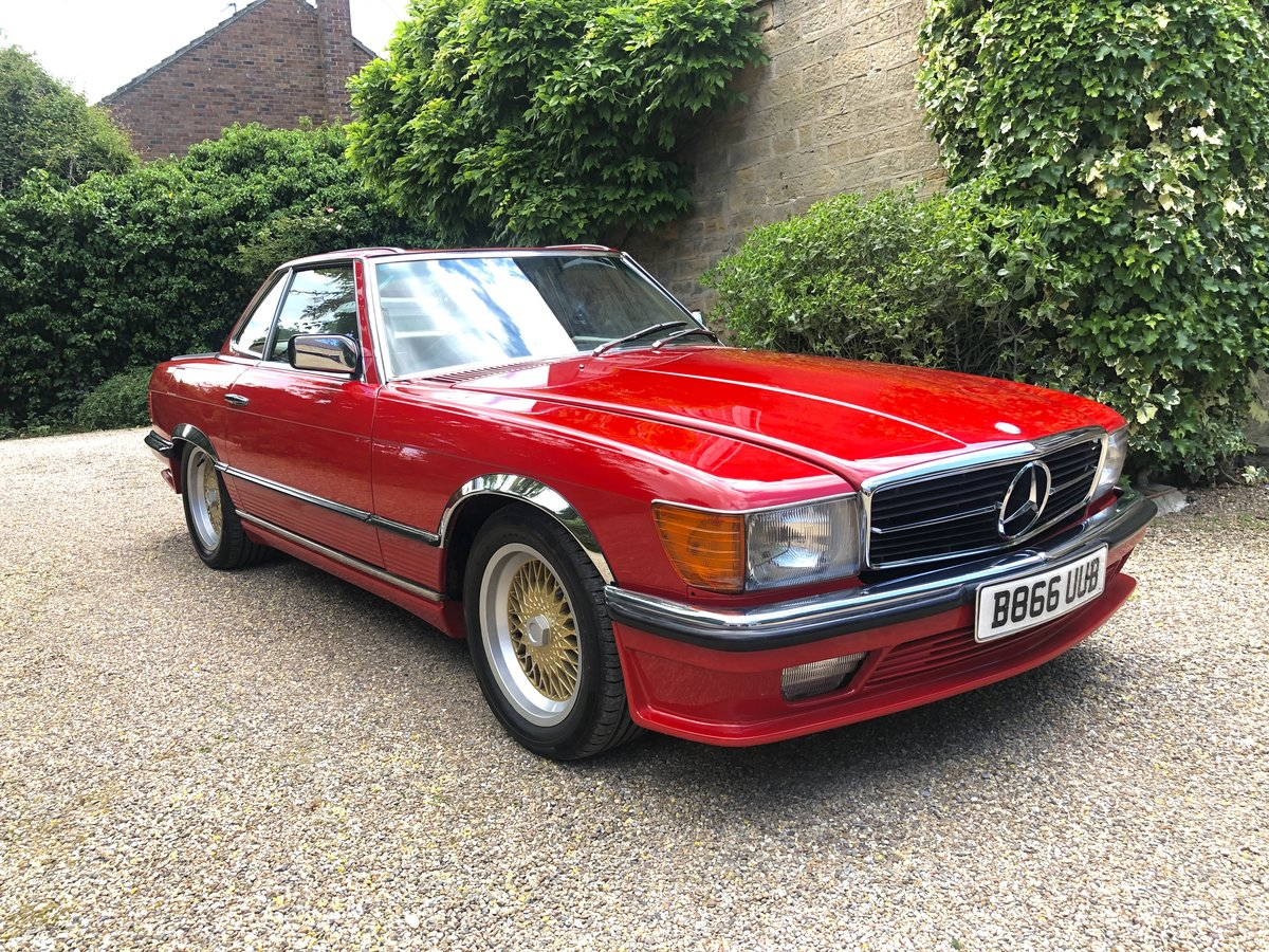 1985 RHD Mercedes 380SL - 39,025 Miles Only For Sale (picture 1 of 6)