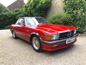 RHD Mercedes 380SL - 39,025 Miles Only
