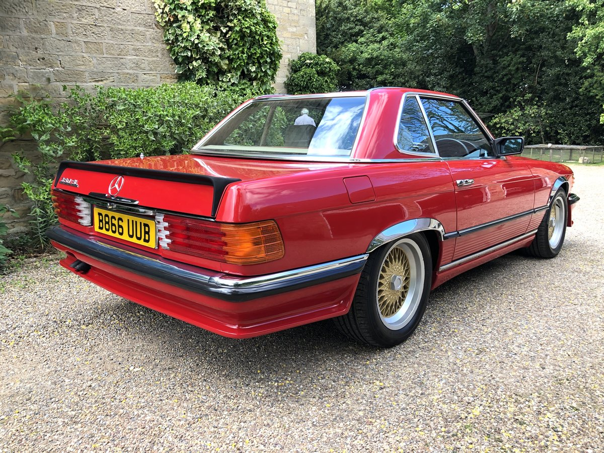 1985 RHD Mercedes 380SL - 39,025 Miles Only For Sale (picture 2 of 6)