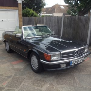 1988/E Mercedes 300SL R107 lowest price in uk ?