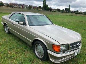 85C Mercedes-Benz 500 SEC AUTO £8995