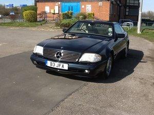1997 Mercedes SL500 R129 series