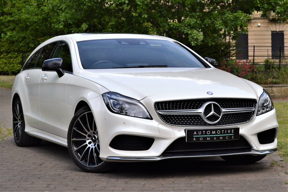 2015 Mercedes 350d AMG Line Premium Plus Shooting Brake  For Sale (picture 1 of 6)