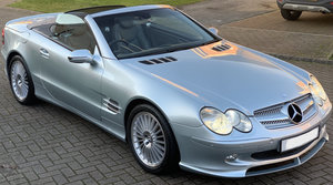 2002 Mercedes SL 500