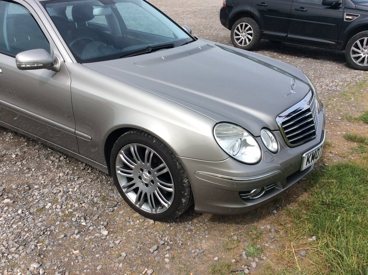 2007 Mercedes e280cdi sport For Sale (picture 2 of 6)