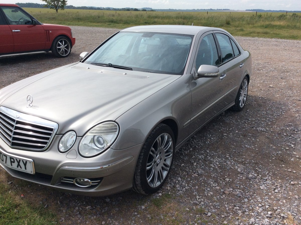 2007 Mercedes e280cdi sport For Sale (picture 3 of 6)