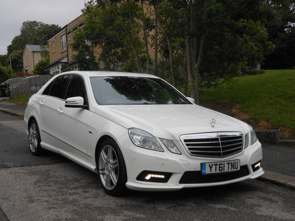 2011 Mercedes E350 CDI B-EFF Sports Edition 125 AMG AUTO For Sale (picture 1 of 6)