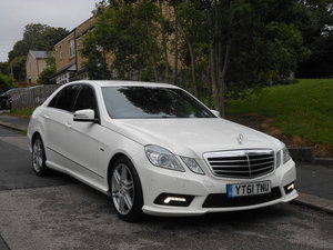2011 Mercedes E350 CDI B-EFF Sports Edition 125 AMG AUTO SOLD