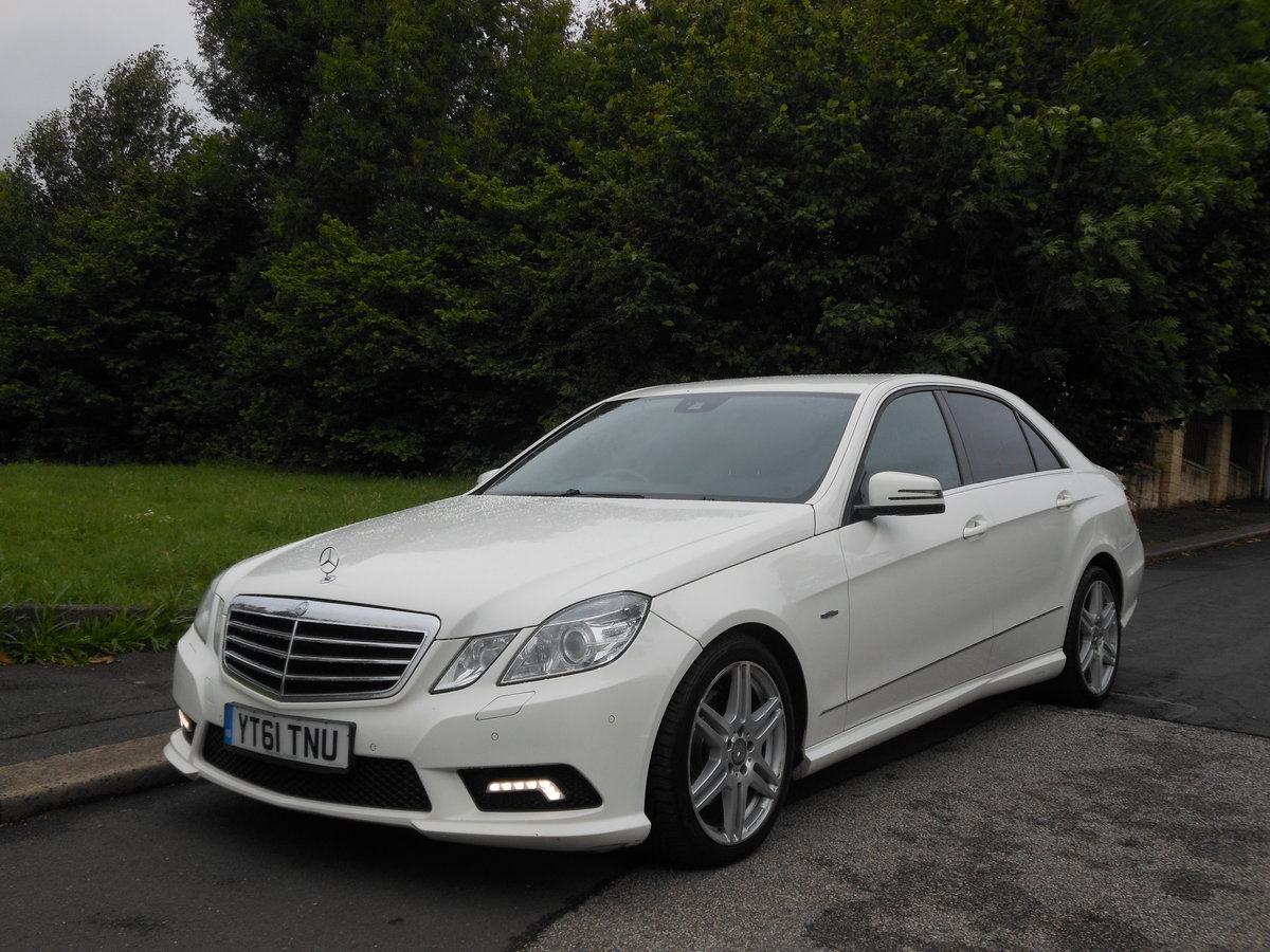 2011 Mercedes E350 CDI B-EFF Sports Edition 125 AMG AUTO For Sale (picture 4 of 6)