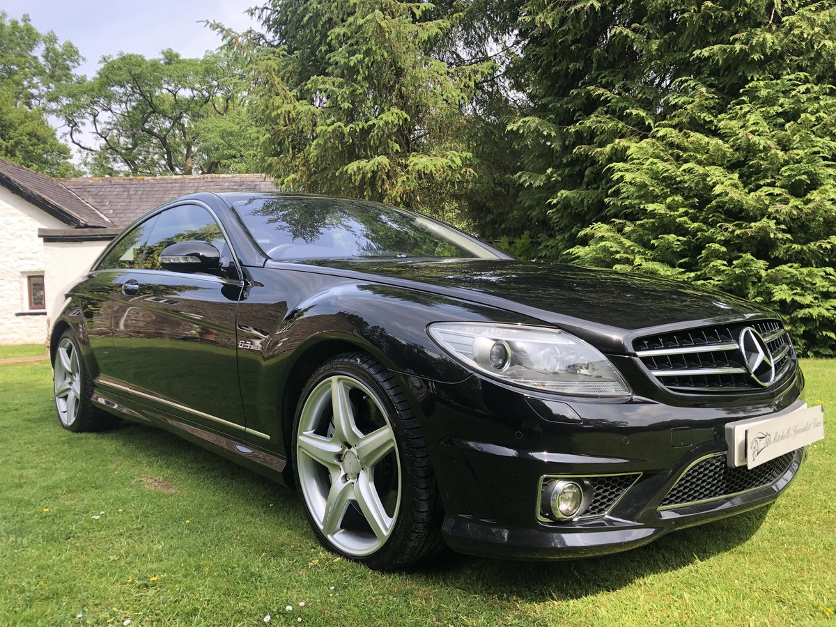 2008 INCREDIBLE LOW MILEAGE Mercedes-Benz CL63 AMG 6.2 ...