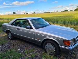 1989 500 SEC - Superb Chrome, drives as well as it look