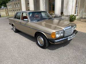 1981 Mercedes 230E 49000 Miles UK Car Collector Quality