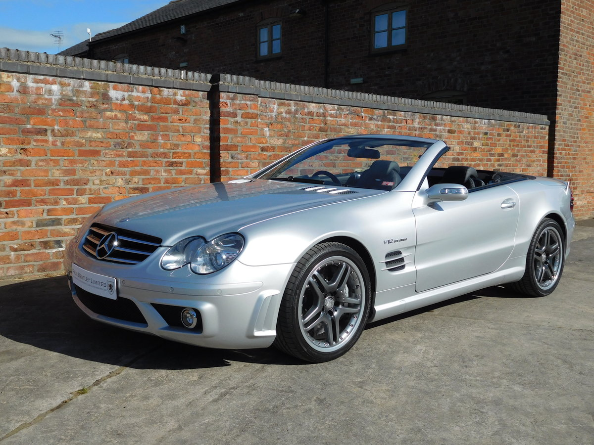 2007 Mercedes Benz (R230) SL65 **SOLD ** RHD 1 of 72 Cars For Sale (picture 1 of 6)