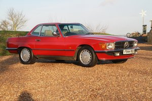 1989 300 SL  Low Mileage Example in Very Good Condition