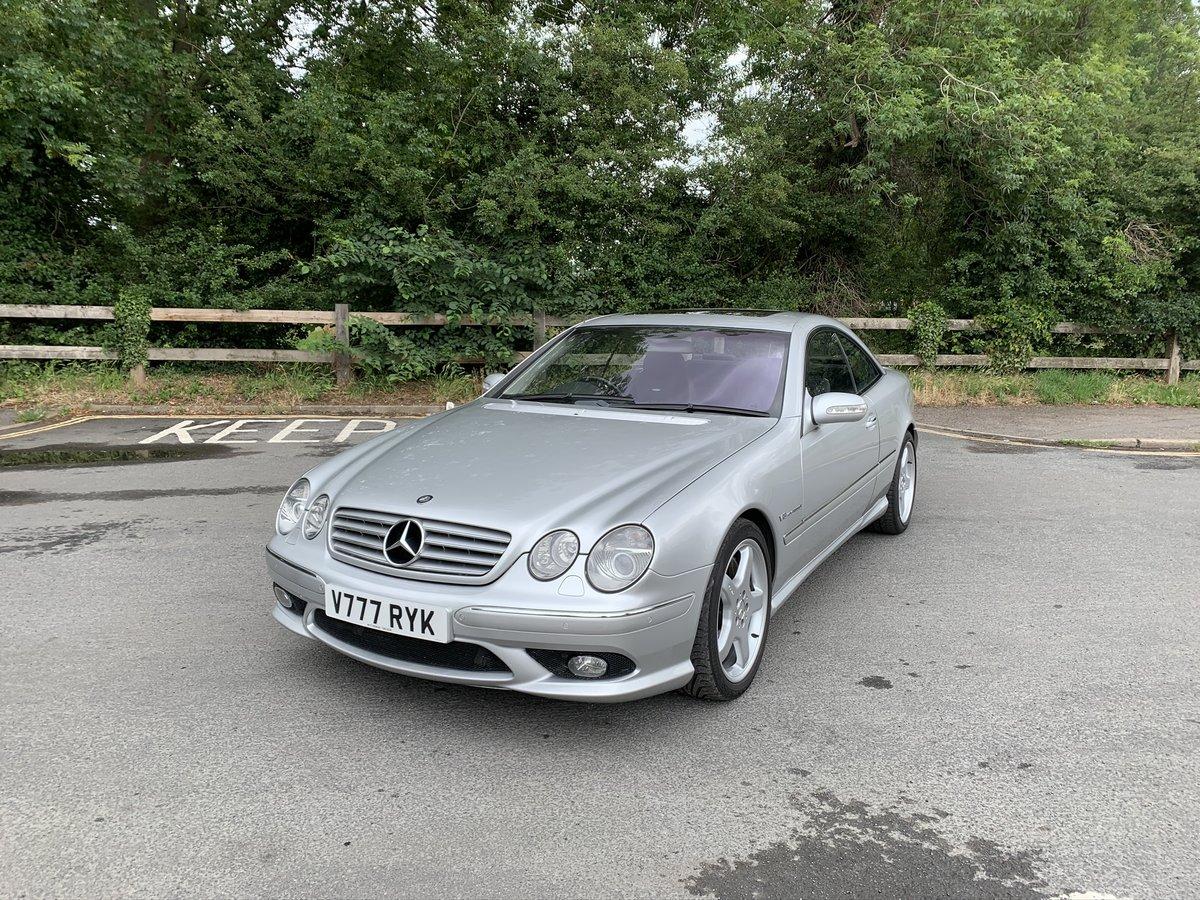 2004 (04) Mercedes-Benz CL55 AMG KOMPRESSOR 5.4 V8 SOLD (picture 1 of 6)
