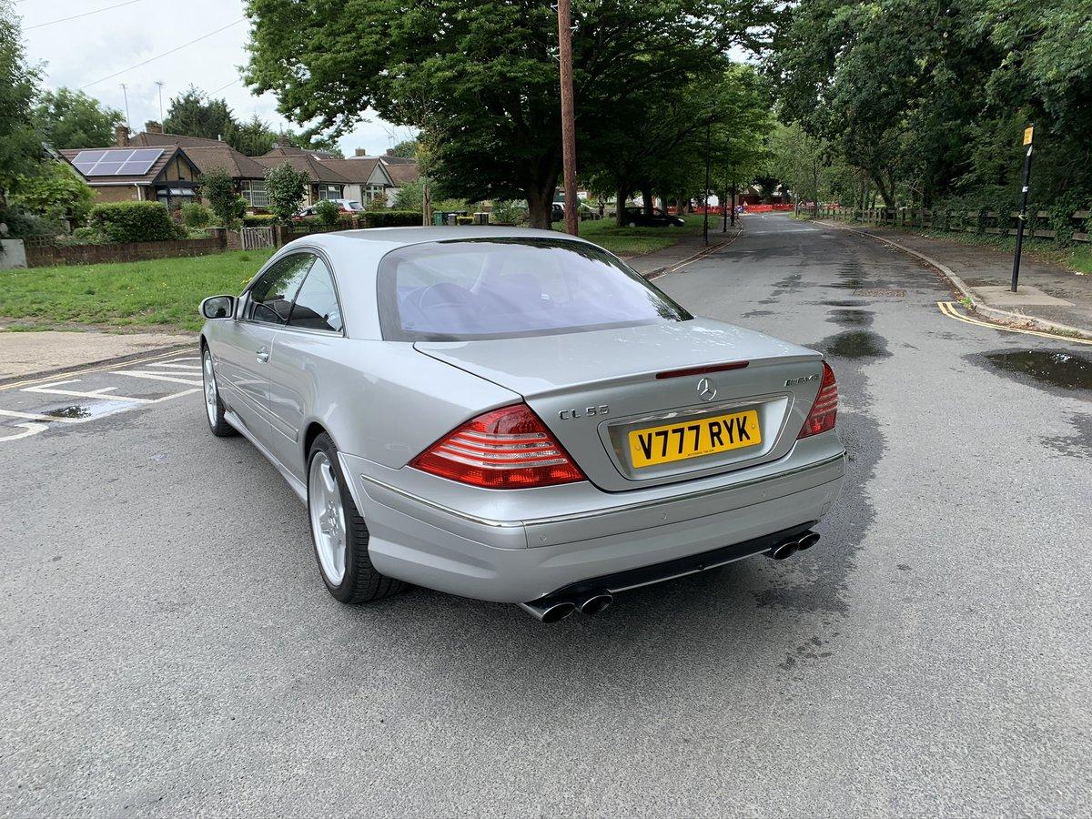 2004 (04) Mercedes-Benz CL55 AMG KOMPRESSOR 5.4 V8 SOLD (picture 2 of 6)