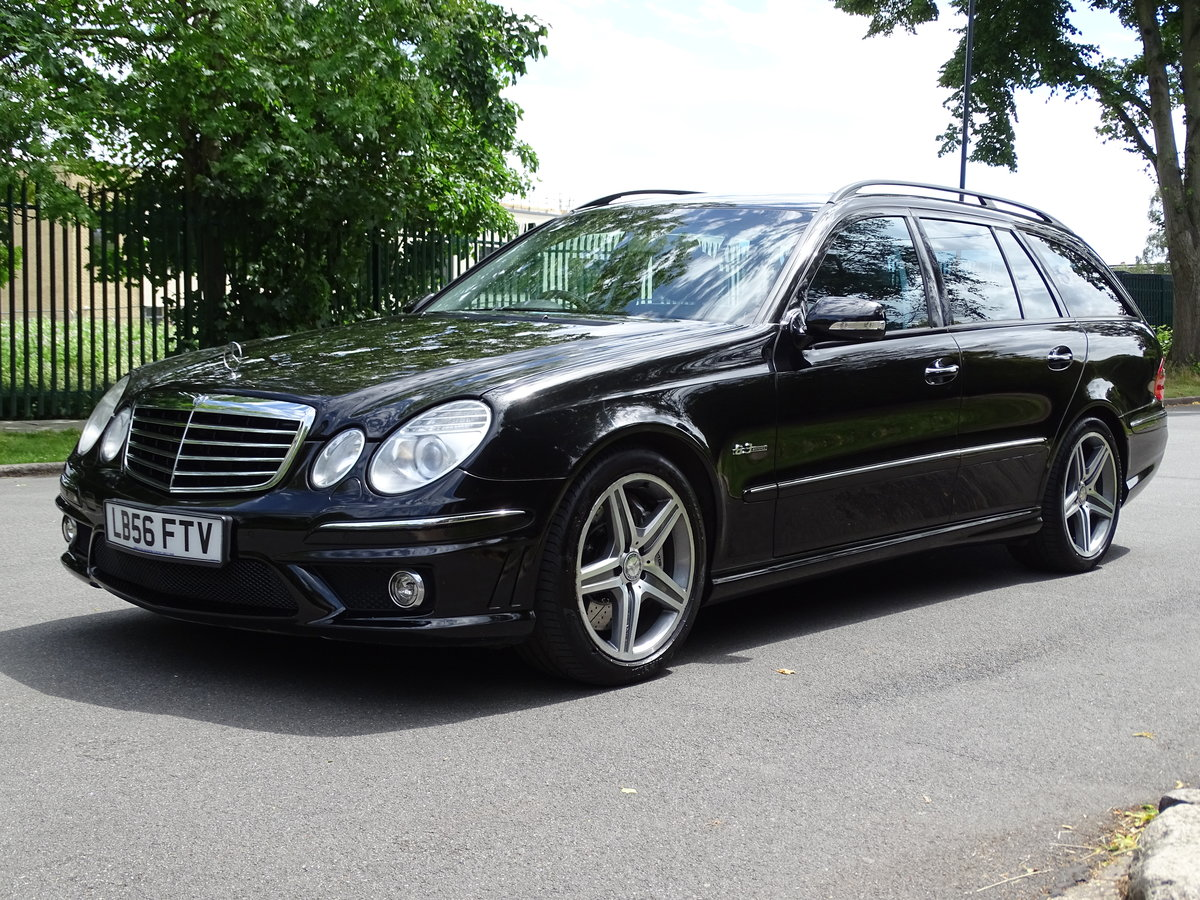 2007 Mercedes E63 AMG Estate  53,000 miles For Sale (picture 3 of 6)