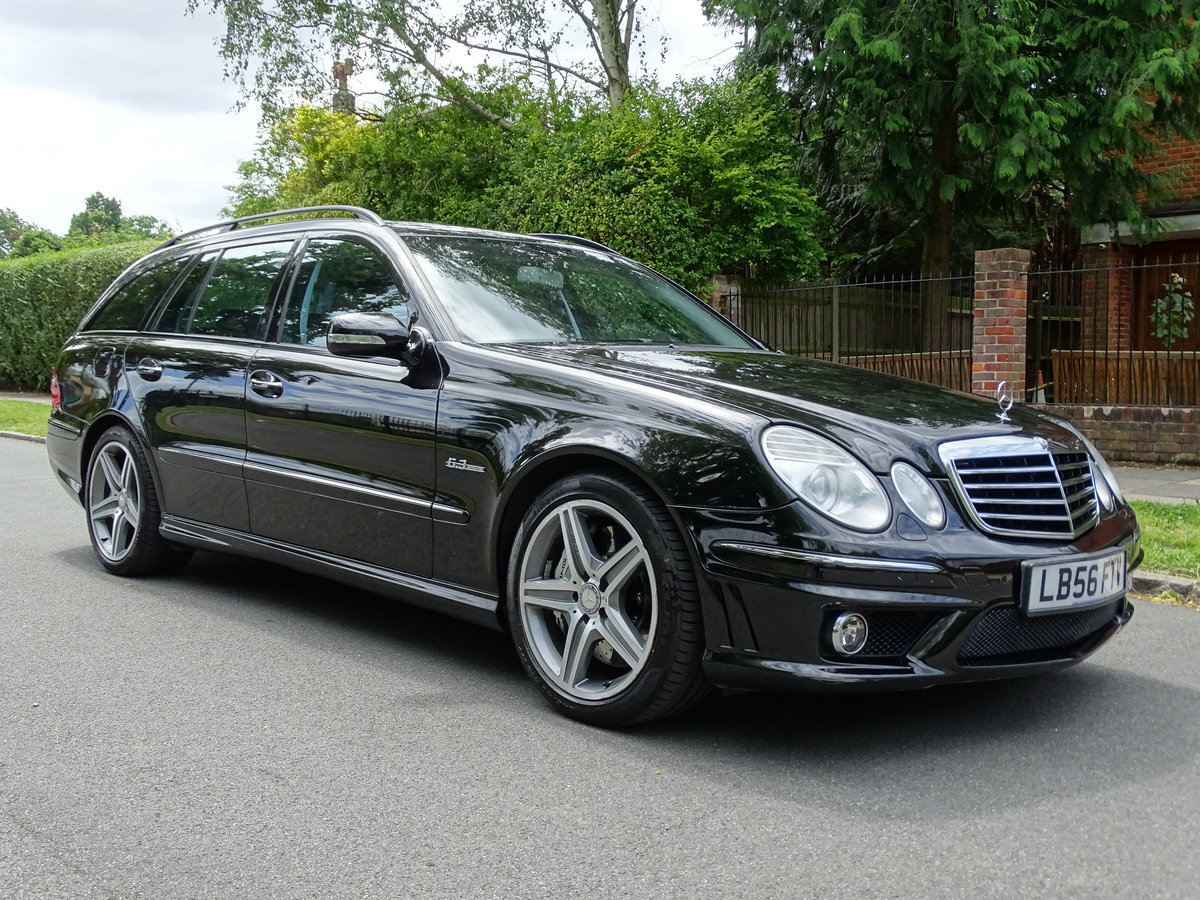 2007 Mercedes E63 AMG Estate  53,000 miles For Sale (picture 4 of 6)